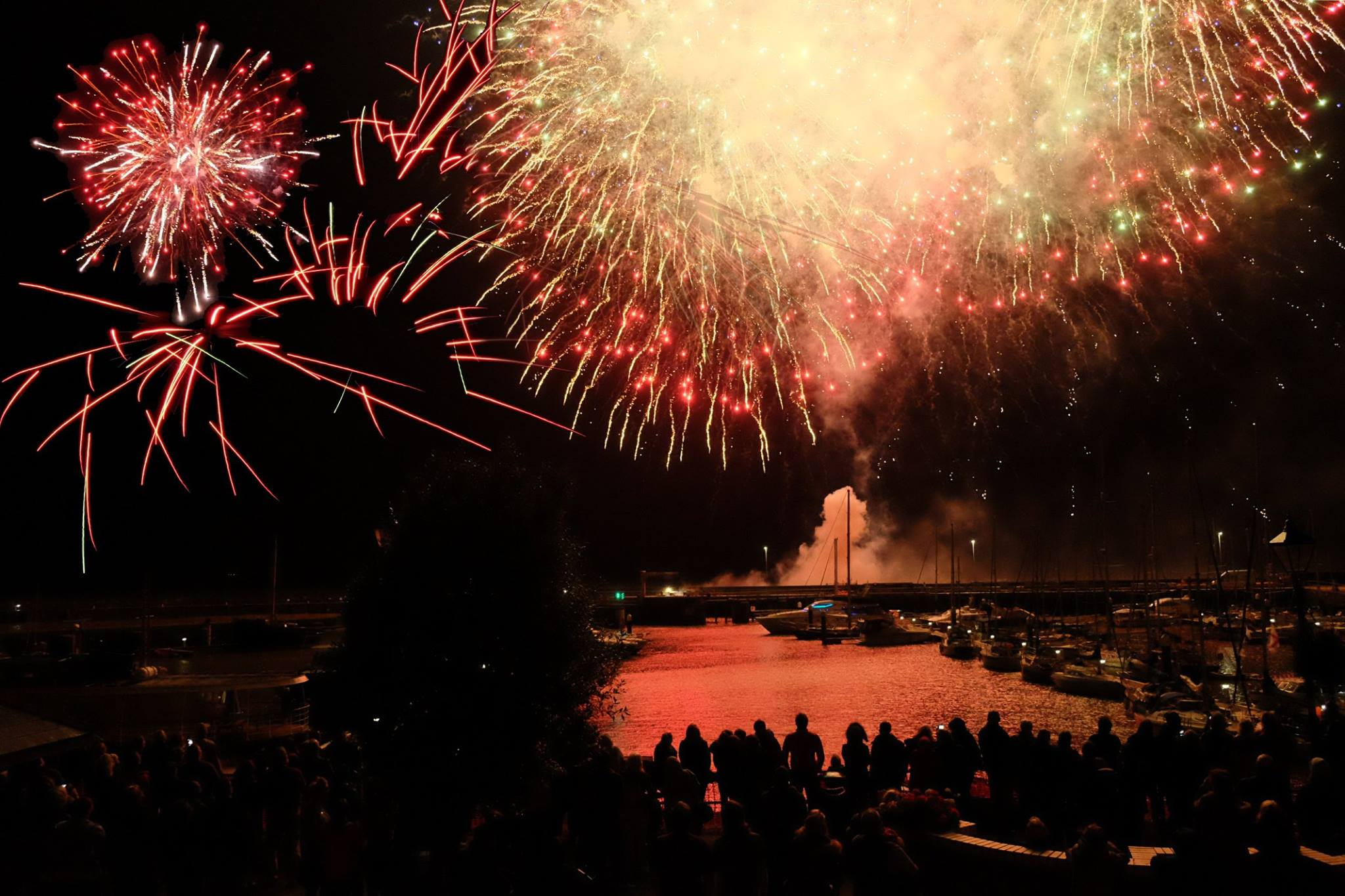 BCYA ENGLISH COAST RALLY FIREWORKS AT WATCHET 2016